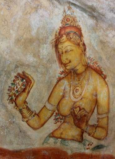 Sigiriya - Peinture 1
