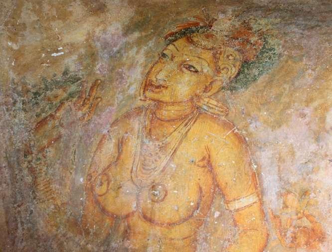 Sigiriya - Peinture 2