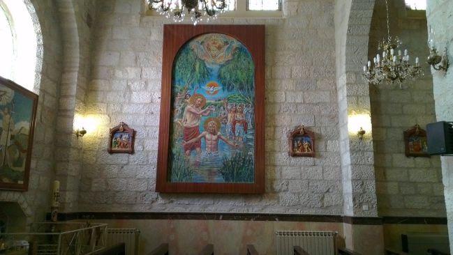 Madaba - Intérieur église
