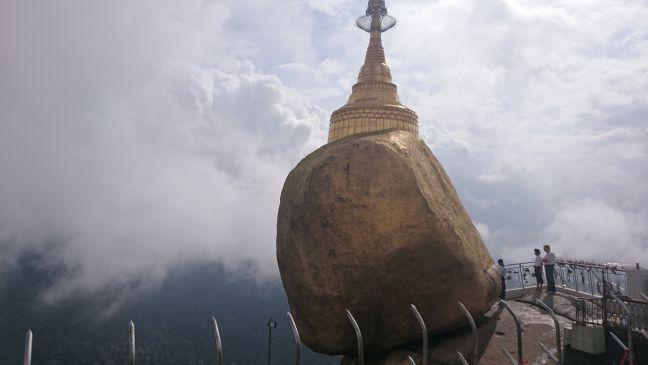 Birmanie - Rocher d'or