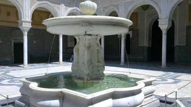 Alcazar fontaine