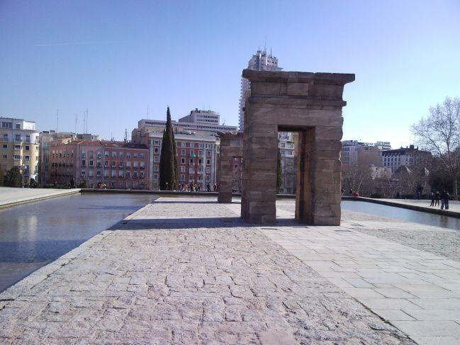 Visiter Madrid - Temple d'Amon