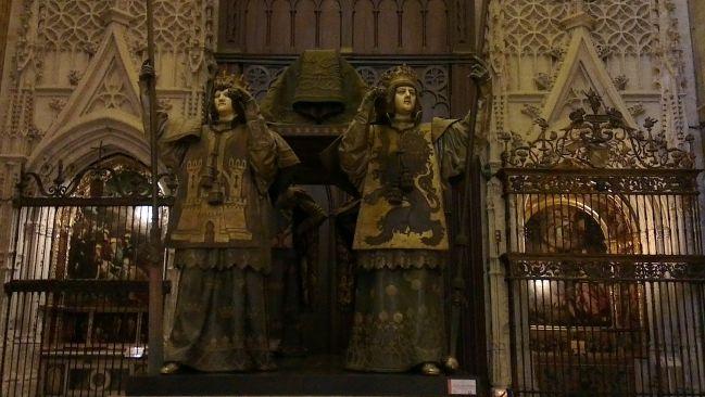Visiter Séville - Tombe de Christophe Colomb