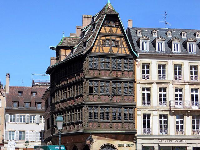 Visiter Strabourg - Maison Kammerzell